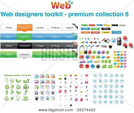 Web Designers Toolkit Premium Collection 6