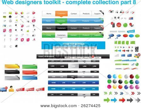 Web designers toolkit - complete collection part 8