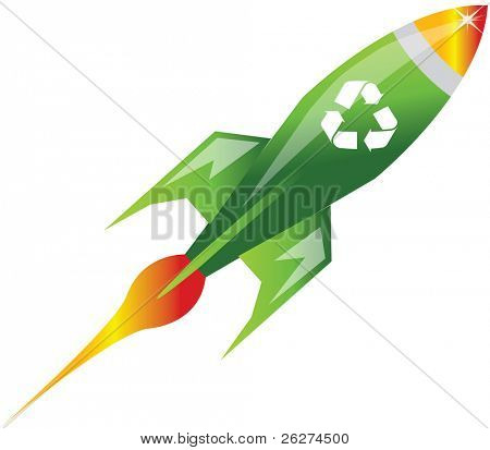 Recycle rocket
