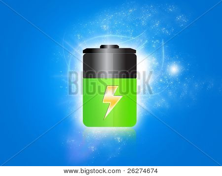 Sparkling battery