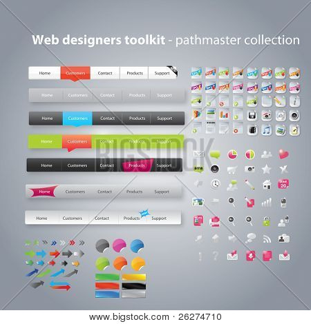 Web ontwerpers toolkit - pathfinder collectie
