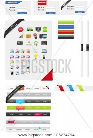 Web designers toolkit - web graphics