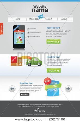 Panixxo series - editable web template