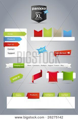 Panixxo series - gráficos para la web