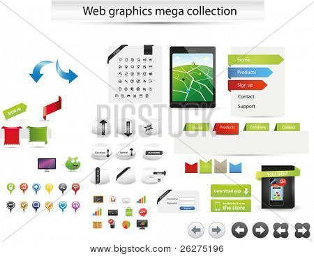 Web gaphics mega collection