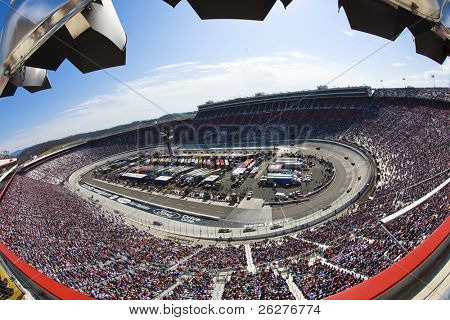 BRISTOL, TN - MAR 21:  The Nationwide Series makes a stop at the Bristol Motor Speedway for the running of the Scotts Turf Builder 300 NASCAR Nationwide race in Bristol, TN on 21 Mar, 2009.