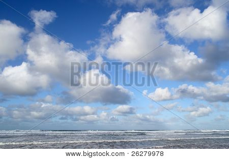 Atlantic clouds, Cornwall, UK.
