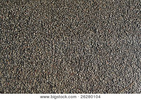 Tarmac road close up background.