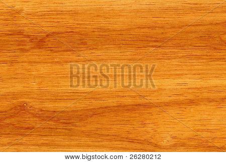 Líneas y grano de madera de caucho detallan fondo.