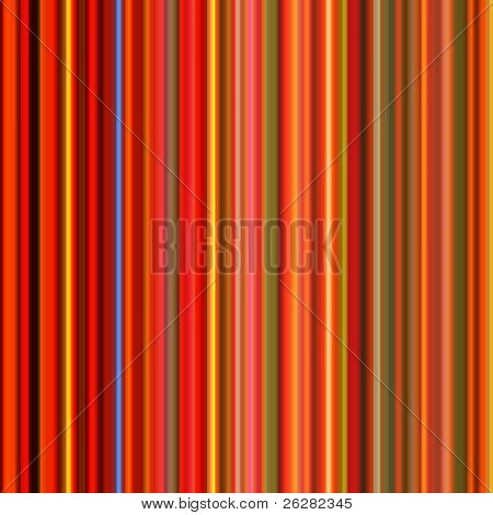 Vibrant colorful red lines abstract background.