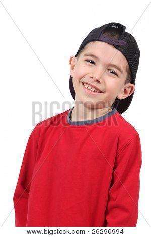 Foto de adorable joven con sombrero