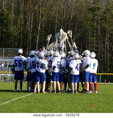 Lacrosse-Teamgeist