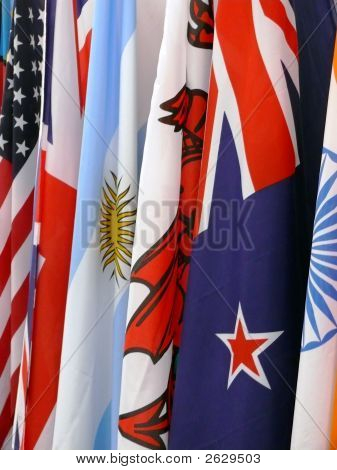 Nations Flags