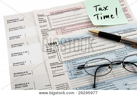 Tax Instructions And Form