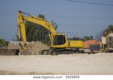 Backhoe Shovel