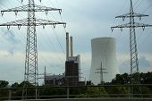 Thermal Power Station / A Thermal Power Station Is A Power Station In Which Heat Energy Is Converted poster
