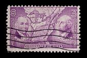 UNITED STATES - CIRCA 1937, depicting insets of Putnam & Cutler, in-scripted