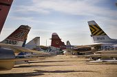 Planes at Pima Air & Space Museum