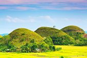 pic of chocolate hills  - View of The Chocolate Hills - JPG