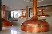 stock photo of pressure vessel  - bohemian brewery - JPG