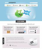 stock photo of web template  - Web 2 - JPG