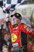 DAYTONA BEACH, FL - FEB 14:  Jamie McMurray wins the 52nd Annual Daytona 500 race at the Daytona Int
