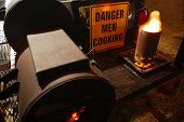 Men Cooking poster