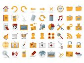 54 detailed web icons
