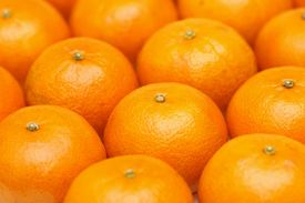 stock photo of mandarin orange  - Mandarin orange background - JPG
