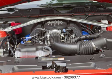 2012 Ford Mustang Boss 302 Car Engine