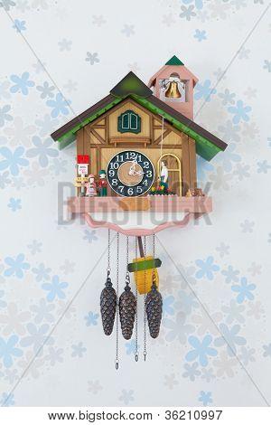 Vintage Wood Clock
