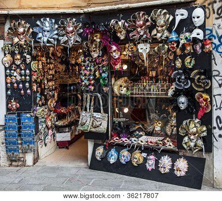 Venetian Masks Shop