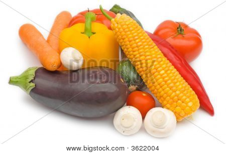 Isolated Vegetables