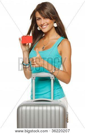 Tarjeta de crédito de viajes