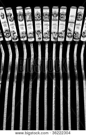 Tipos de máquina de escribir