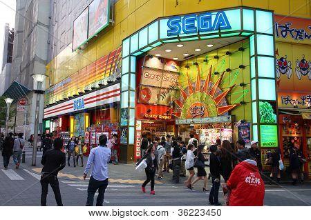 Sega In Ikebukuro, Tokyo
