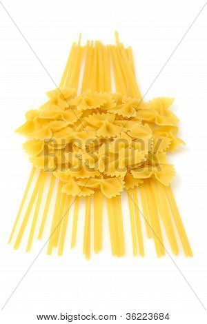 Farfale And Linguine Pasta