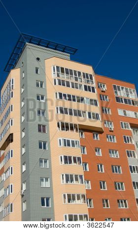 New Modern Brick Multistory House