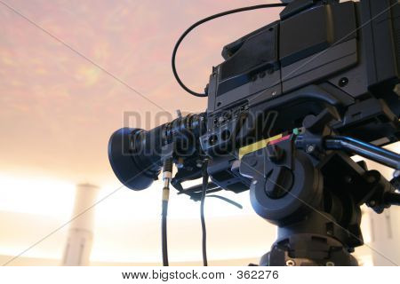 Cámara de vídeo TV
