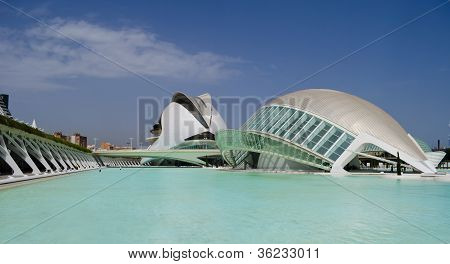 Arts And Science Center In Valencia