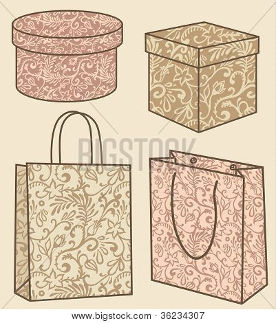 Purchase Bags And Boxes Set