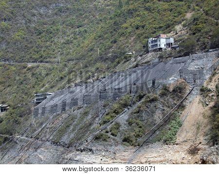 Gravel Distribution At Yangtze River