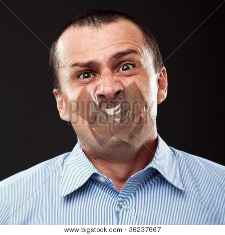 Silenced Businessman