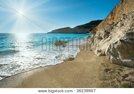 Porto Katsiki Beach (lefkada, Greece)