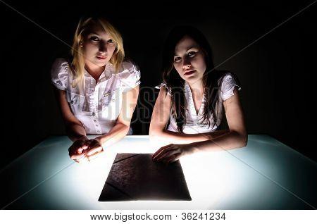 Conceptual Photo Of Crime Scene Investigation