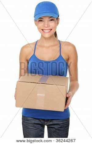 Delivery Postal Service Woman