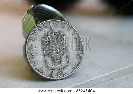 Old european coins