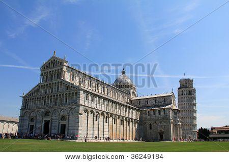 Piazza del Duomo in Piza