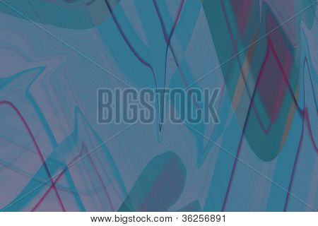 Blue Background With Colorful Lines
