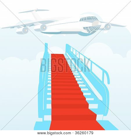 Gangway covered